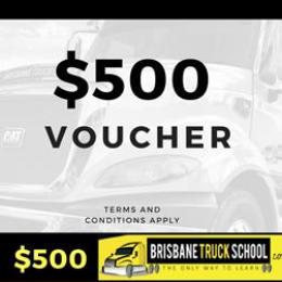 Gift voucher - $500