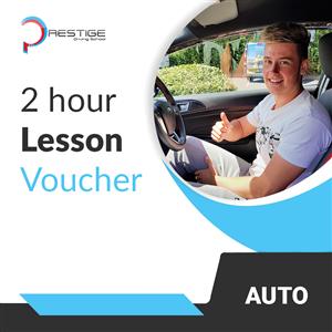 2-Hour Gift Voucher at Prestige Driving School