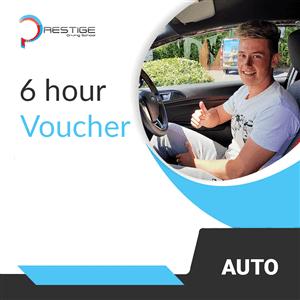 6-Hour Gift Voucher at Prestige Driving School