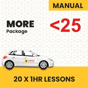 UNDER 25 age LogBook user MANUAL More Pack at Licence Ready
