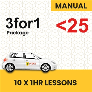 UNDER 25 age LogBook user MANUAL 3for1 Pack at Licence Ready