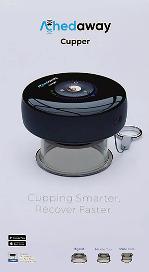 Achedaway Cupper at Tri-Covery Massage & Flexibility