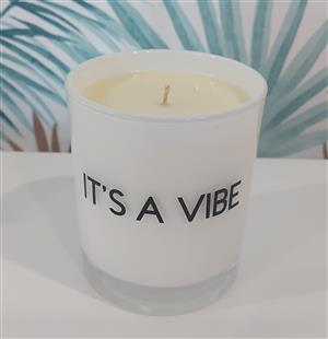 Quote Co Small Candle at First Things First Wellness Centre
