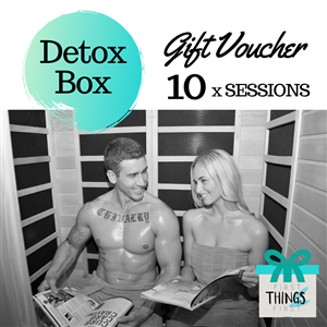 Detox Box 10 Pack Gift Voucher at First Things First Wellness Centre