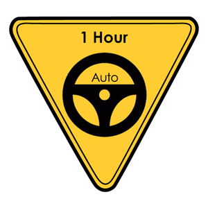 Auto - 1 Hour Standard at Behind the Wheel Driver Education
