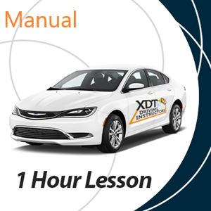 1 Hour Manual Driving Lesson at XDT Driving Instructors