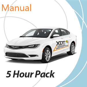 5 Hour Manual Driving Lesson Pack at XDT Driving Instructors