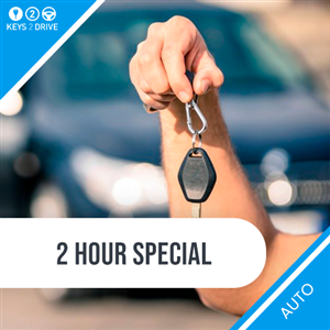 1 Hour Auto Lesson + Free Keys2Drive Lesson at 2Pass Driving School Cairns