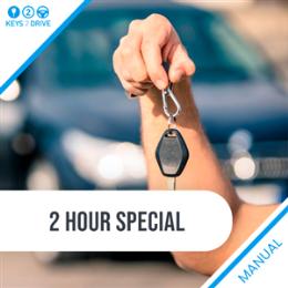 1 Hour Manual Lesson + FREE Keys2Drive Lesson