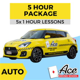 Auto 5 Hour Package