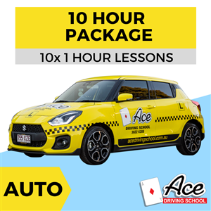Auto 10 Hour Package at Ace Driving School