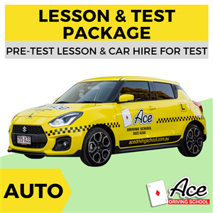 Auto Lesson + Test Package at Ace Driving School