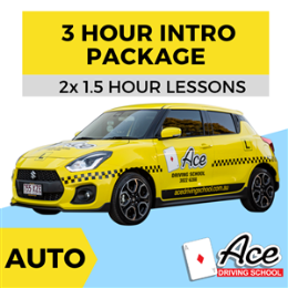 Auto 3 Hour Intro Package 2x 1.5 hour * One-Time-Only