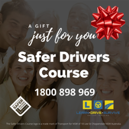 Gift Voucher - Safer Drivers Course