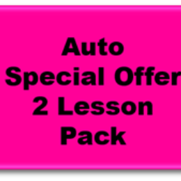 2 Auto Lesson Pack: Toowoomba