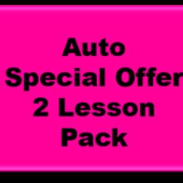 2 Auto Lesson Pack: Highfields, Hodgson Vale, Vale View, Westbrook