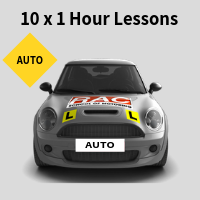 10 x Auto Lesson Package at RAC School of Motoring