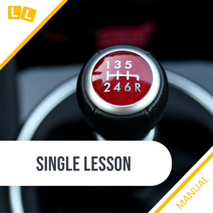 Single Manual Lesson 1.5hr at 2Pass Driving School Cairns
