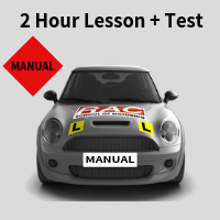 Manual Test Day Package (Option 2) at RAC School of Motoring