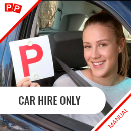 Manual Car Hire Only For The Test